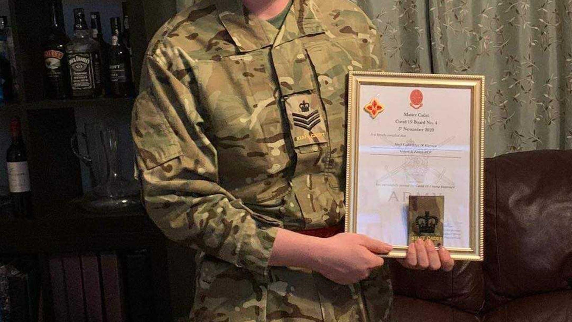Jacob Kiernan Certificate