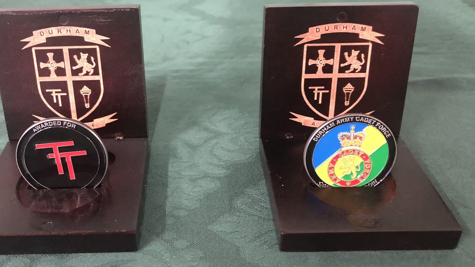 DACF Commandant's Coin
