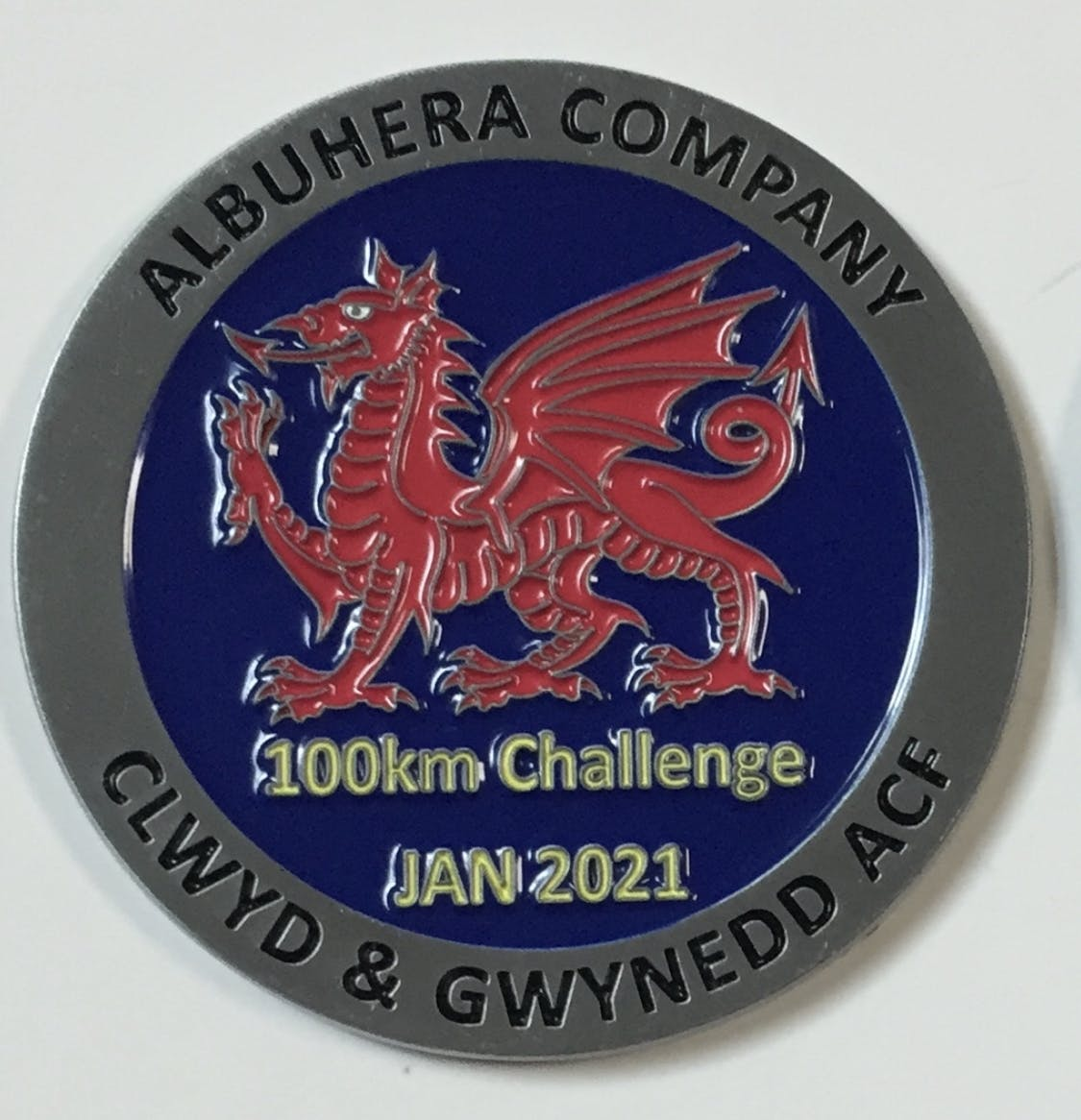 Albuhera 100km Challenge Coin