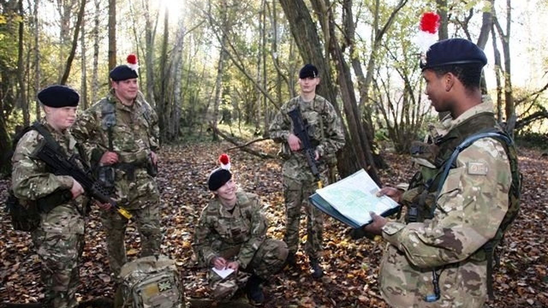 Army cadets navigation exercise 640 434 c1