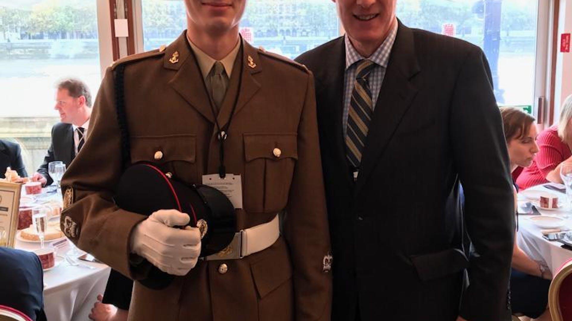 Ben and Colonel Stuart