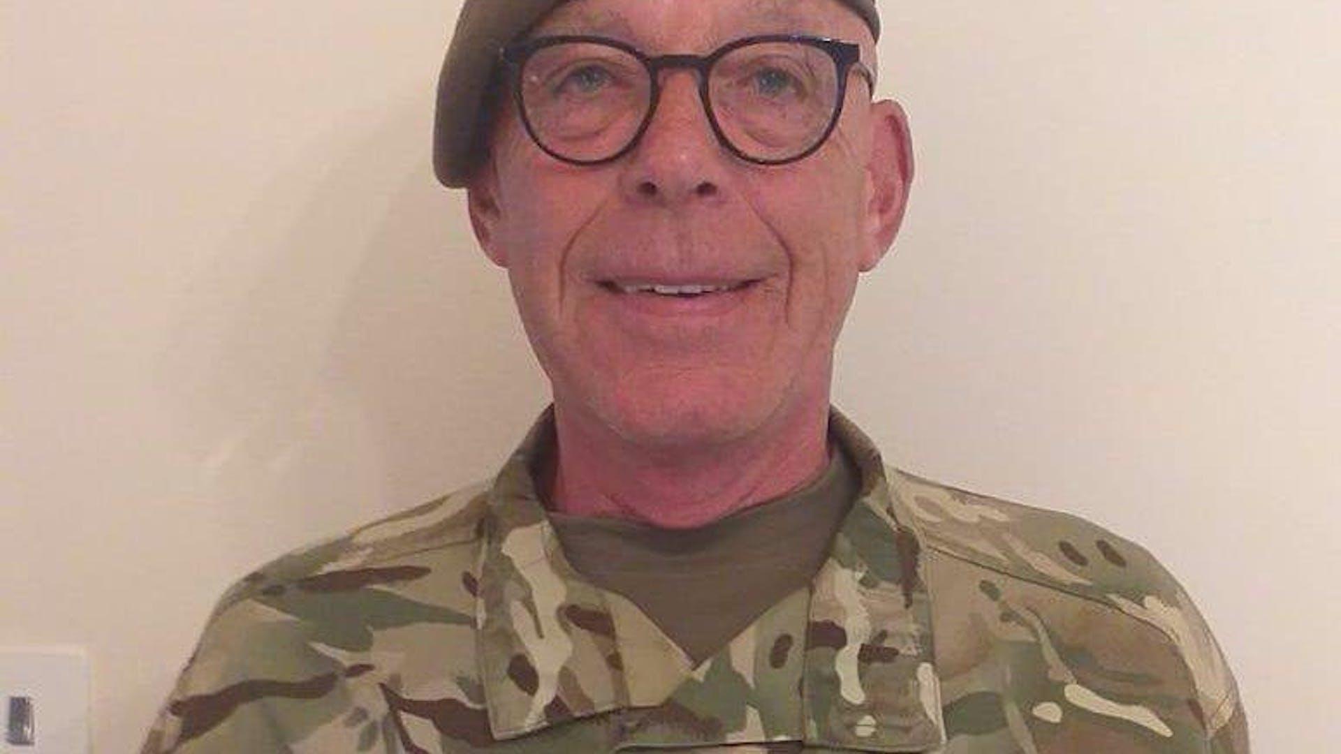 CSM Mark Woodward Commandants Coin
