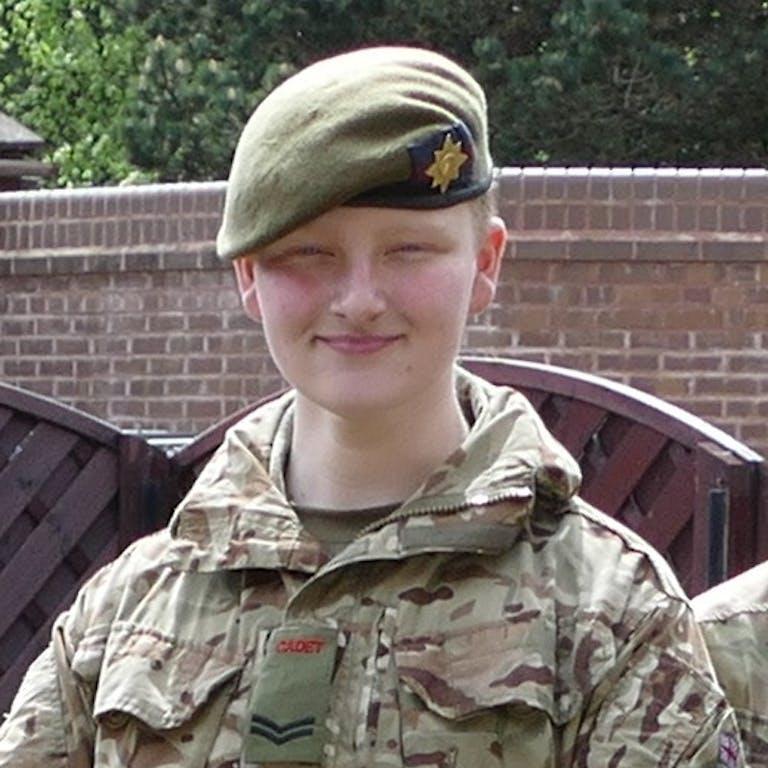Cadet Corporal Williams Merseyside