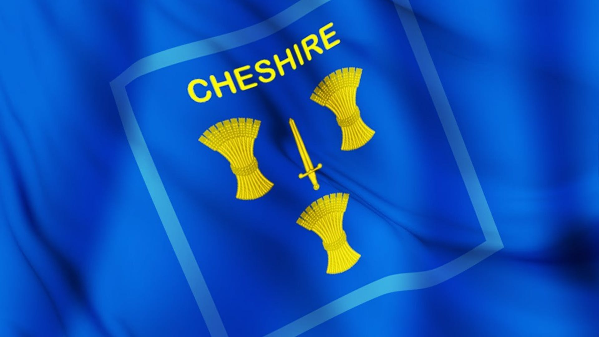 Cheshire flag logo