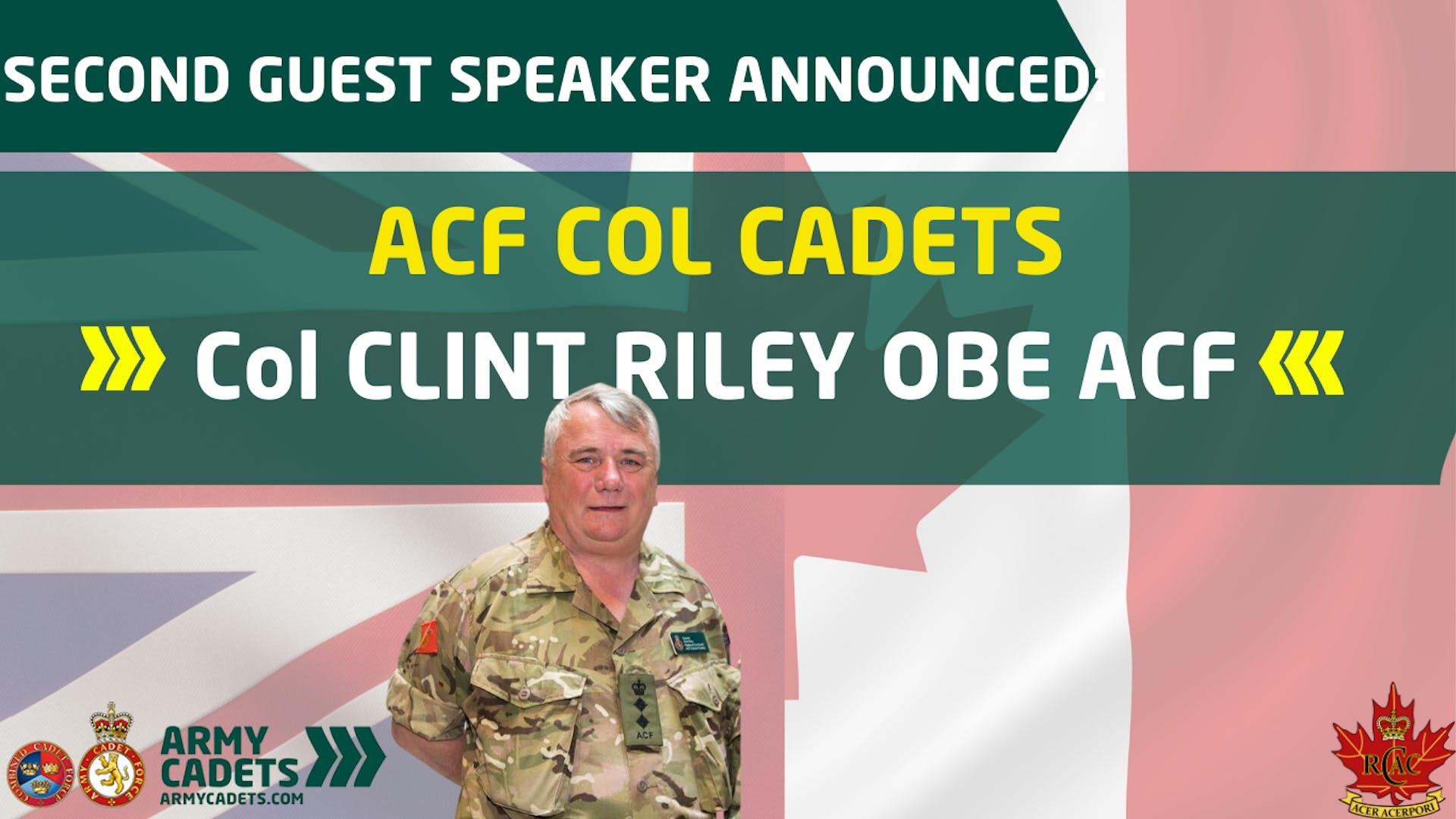 Col Cadets C Riley 2