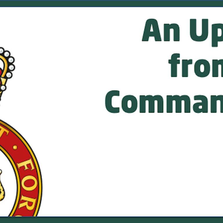 Commandant Update Thumbnail