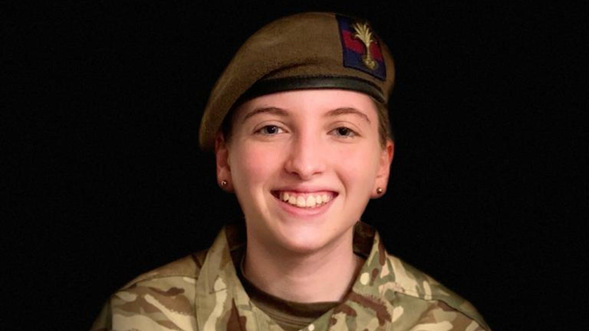 Staff Cadet Sergeant Zoe Brown