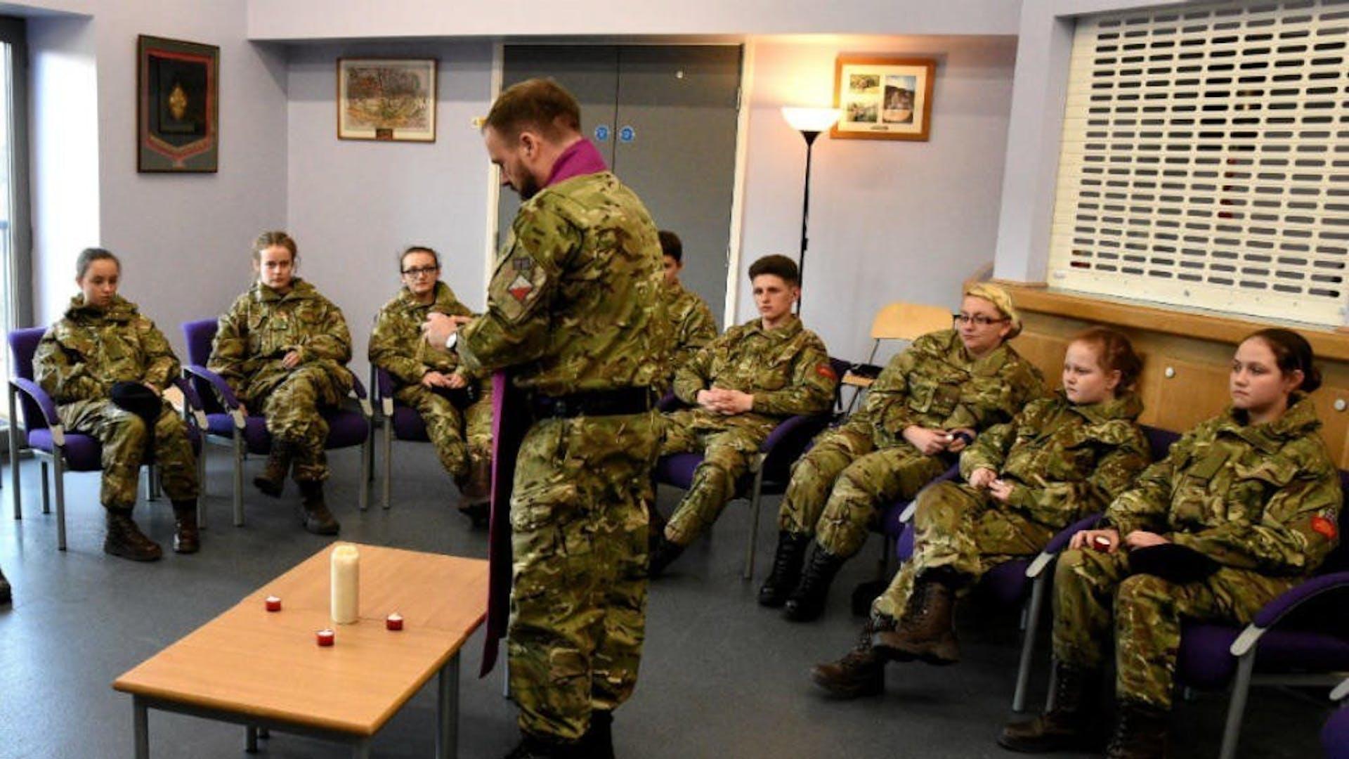 Beswick Cadets 4 02 2