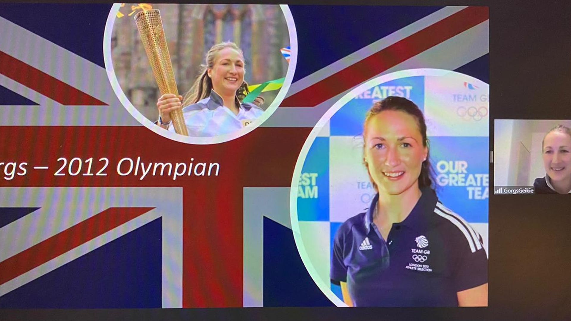 British Olypian Georgina Geikie 1