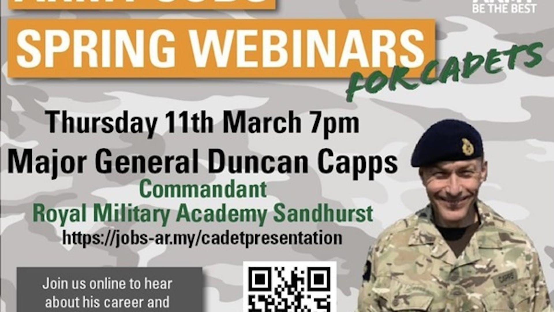 Major General Duncan Capps