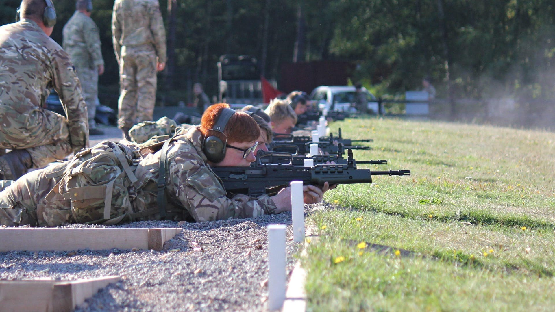 Cadets shooting