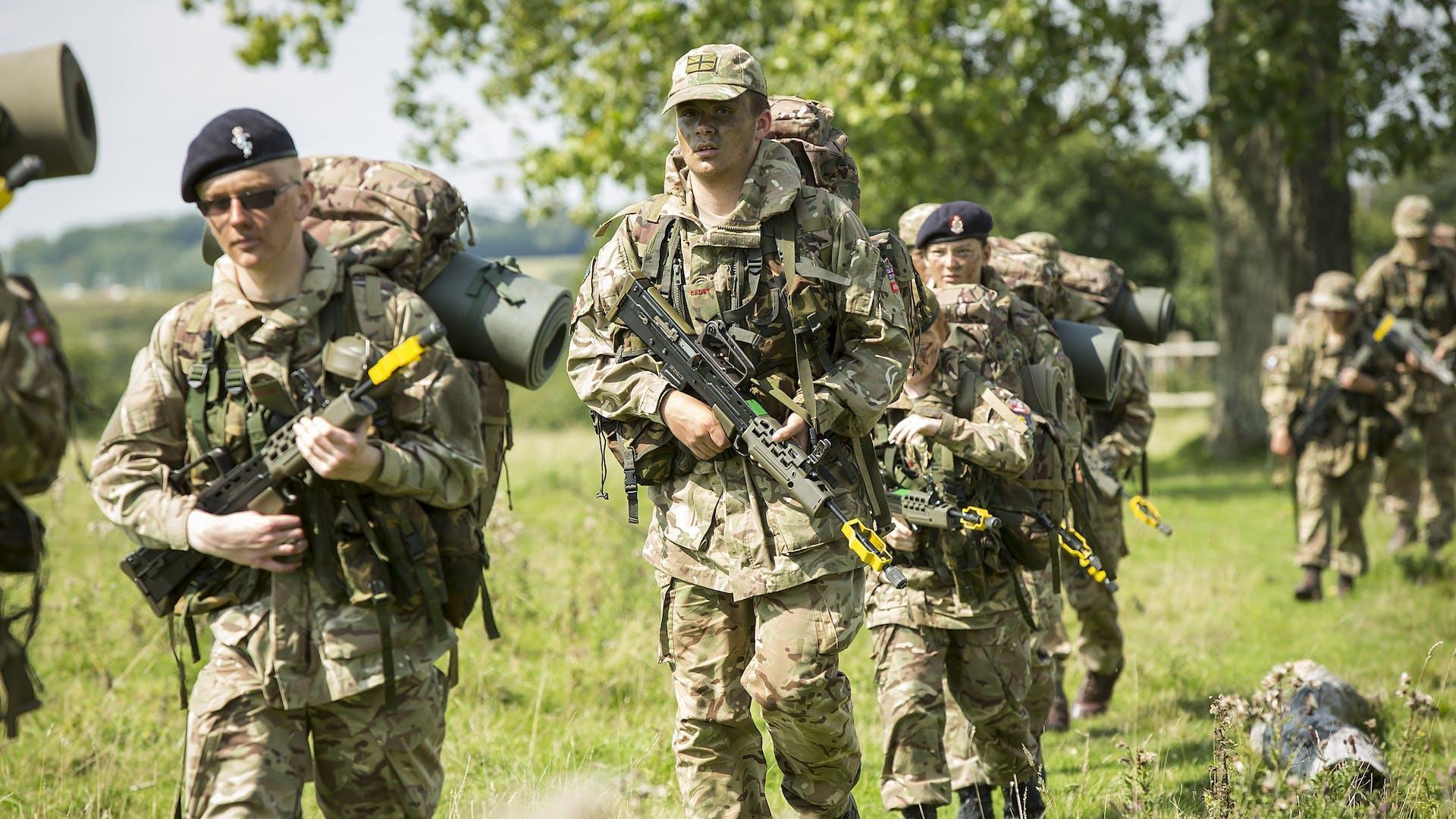 Senior Cadets on Patrol