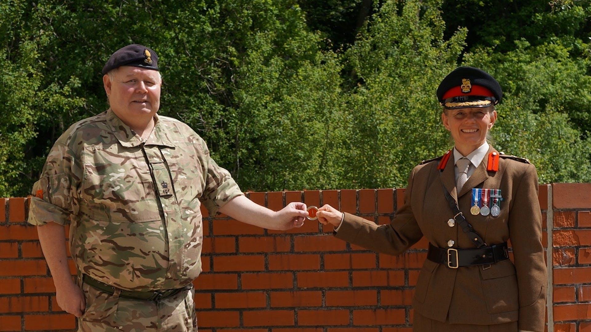 Maj Welsh Commanders Coin