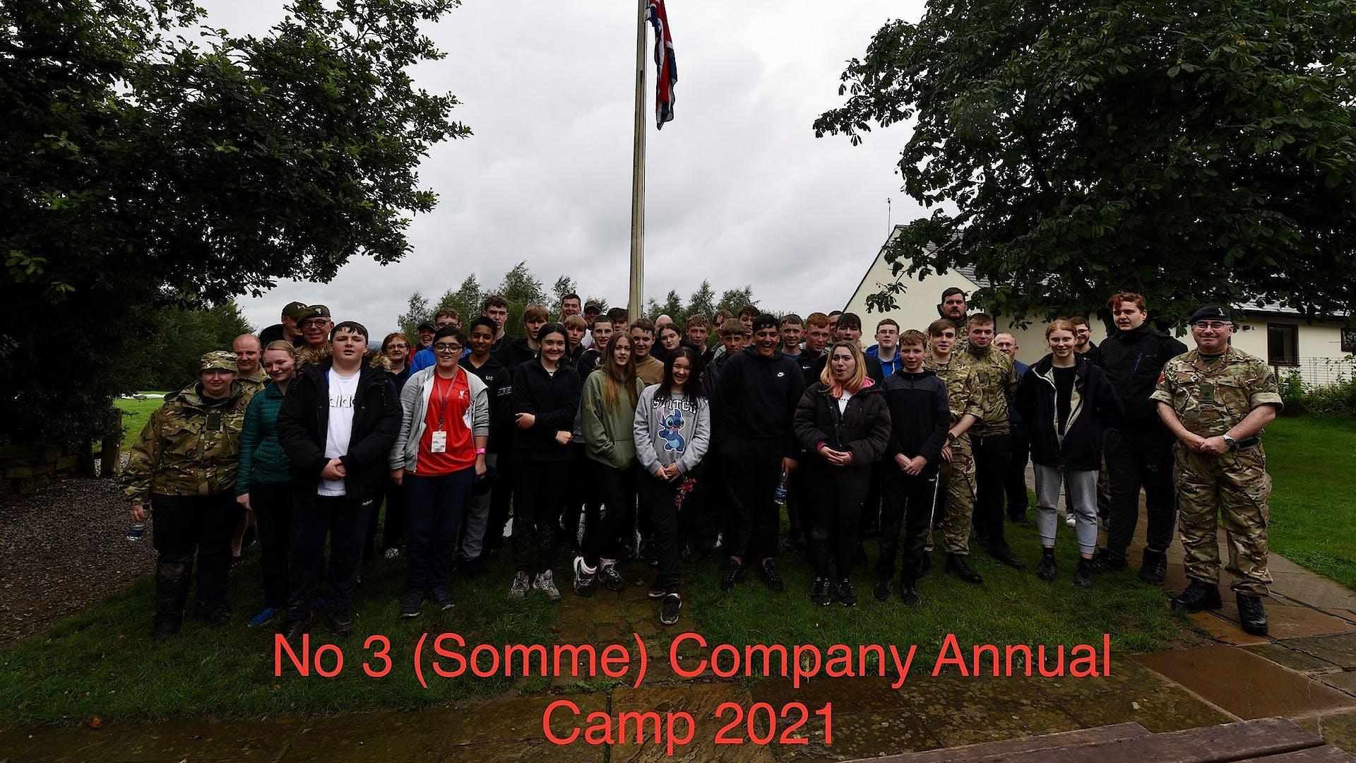 No 3 Somme Company AC 2021