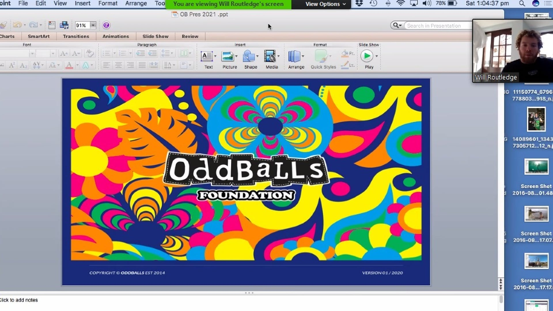 ODDBALLS presentation 1