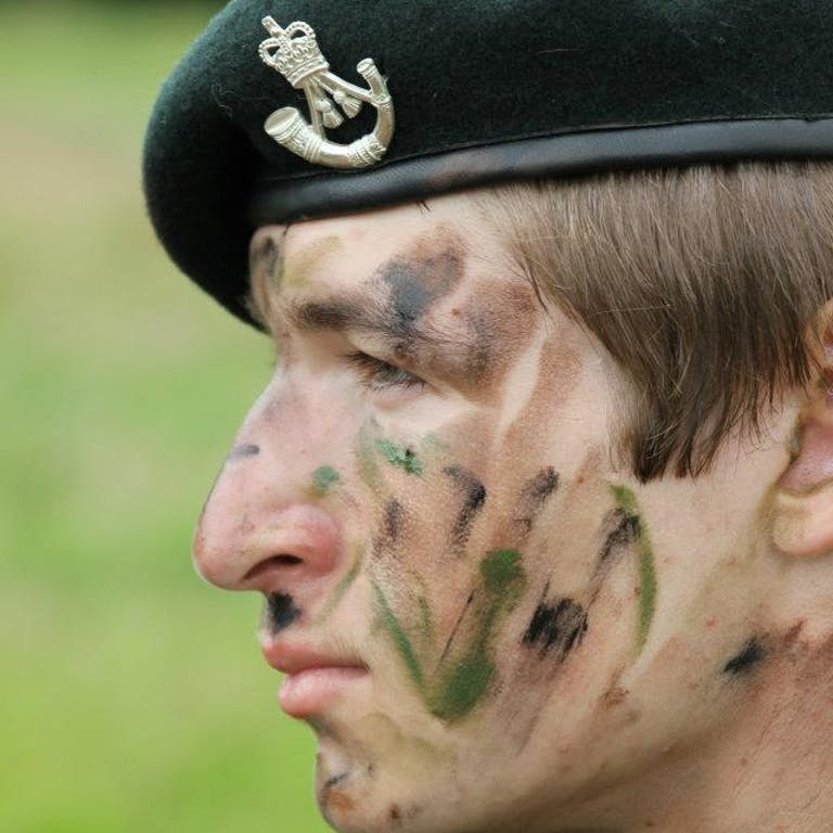 Ross as Cadet in CCF