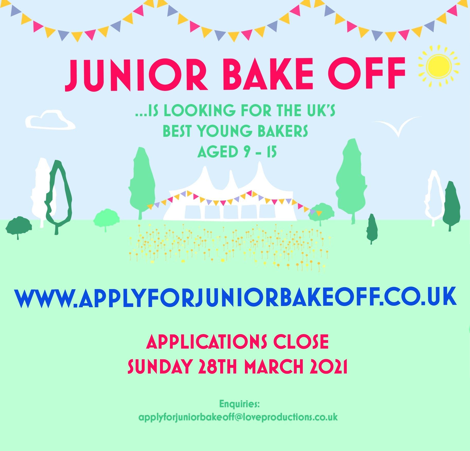 Junior Bake Off 2021