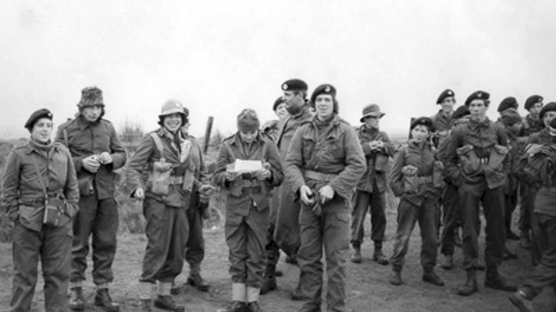 10 19720601 Midsomer Norton Platoon on Exmoor