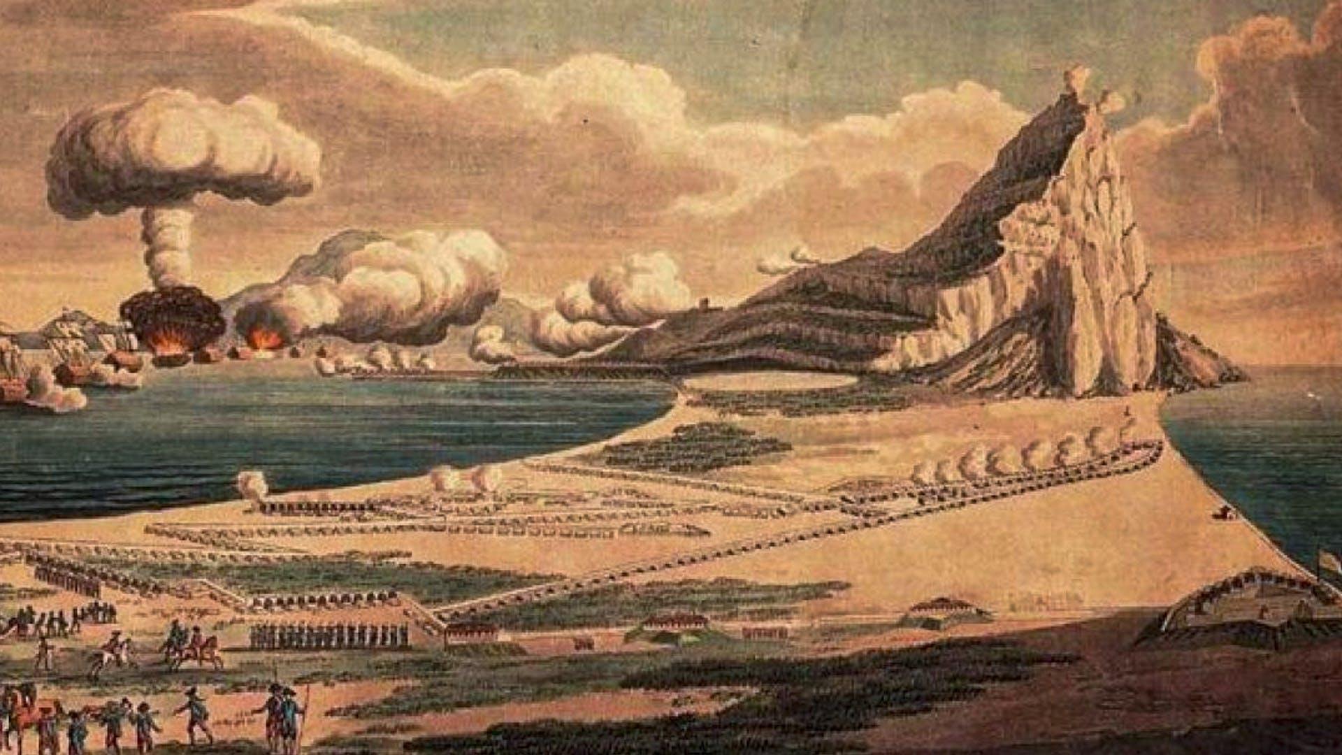 2500 144 TAB GCOY 1705 Seige Of Gibraltar 03 2x