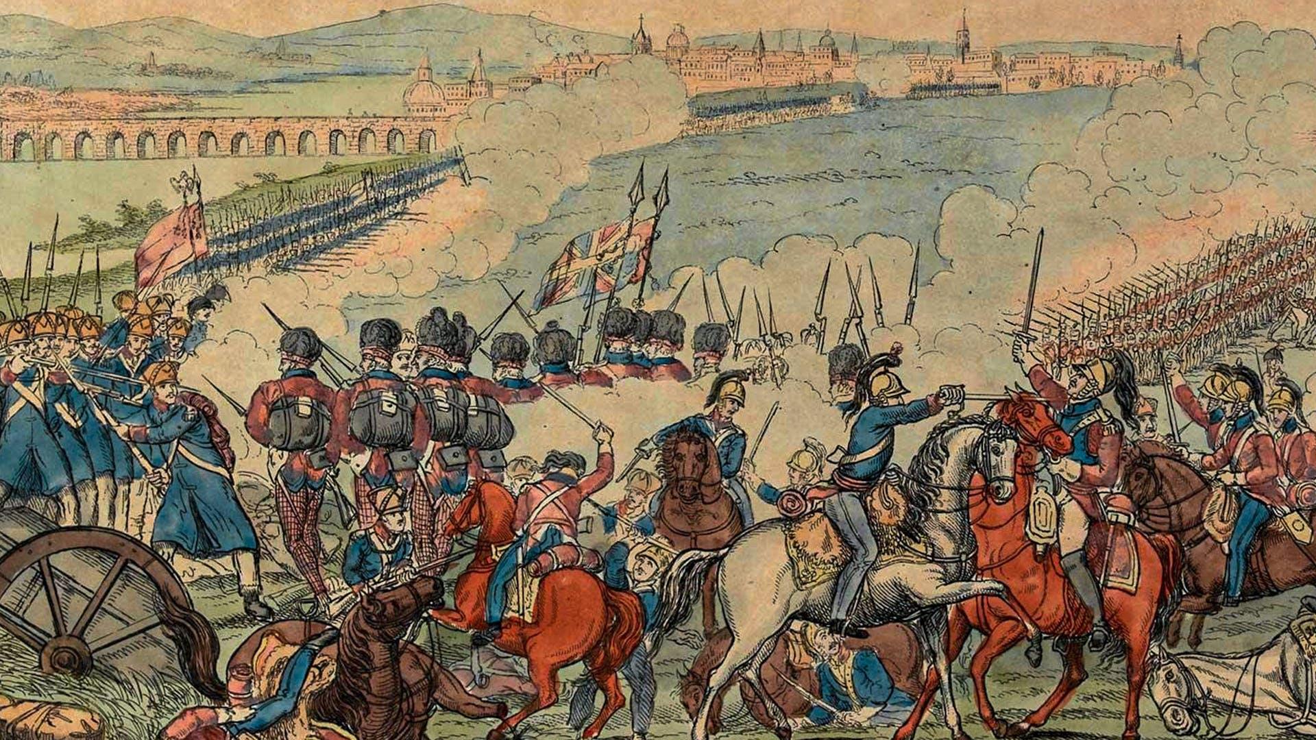 2500 144 TAB SCOY 1812 Battle 0f Salamanca 01 2x