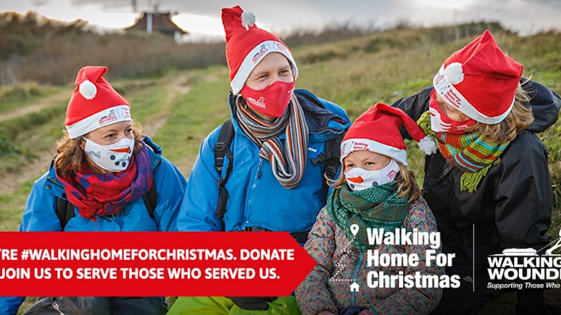 Walking Home for Christmas Banner 1
