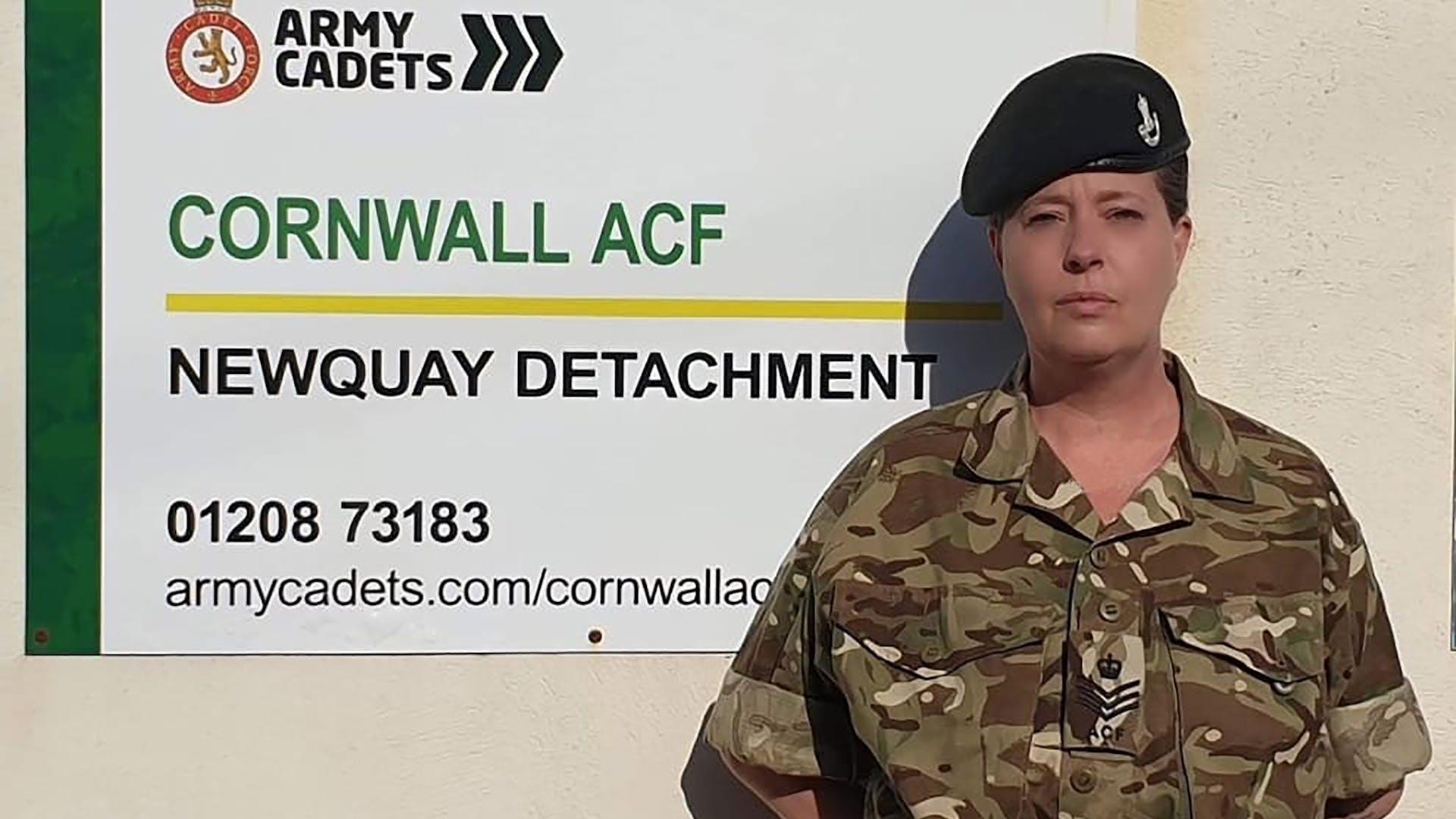 Angela newquay cadets