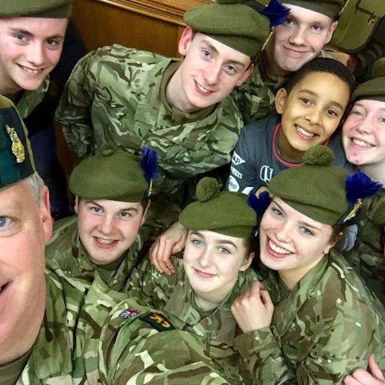 Ardesier detachment 1st bn highlanders